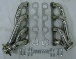 Small Block Ford 260 289 302 351w 5.0l Sbf Stainless Shorty Exhaust Headers