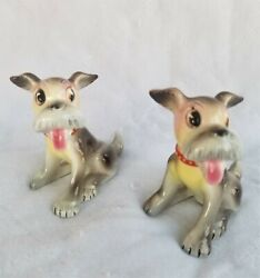 Py Japan Puppy Dogs Salt And Pepper Shaker's