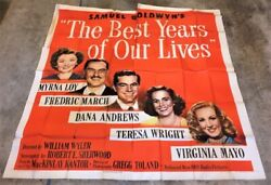 Best Years Of Our Lives Six Sheet Movie Poster Best Picture Hollywood Posters