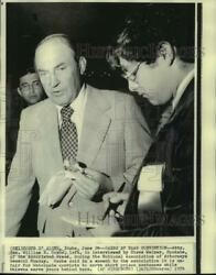 1974 Press Photo Attorney General William Saxbe At Attorneys General Convention