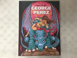 Rare The Art Of George Perez Hc Hard Cover Book 2012 1st Print New Idw
