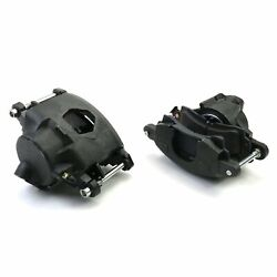 New D52 Brake Caliper And Pad Set W/pins,front,1.28,big Gm Cast Iron Calipers,pads