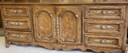 Drexel Heritage Bedroom Furniture. Dresser, Armoire And Two Night Stands.