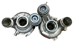 2013 Bmw M5 F10 S63 4.4 Oem Pair Left And Right Turbochargers Twin Turbos