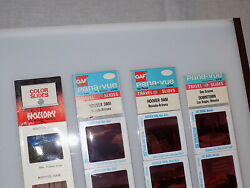 Vintage Collection Of Color Slides From Las Vegas And Hoover Dam New 20 Slides