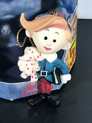 Hermey W/elephant Rudolph The Red Nosed Reindeer Holiday Ornament 2000 W/box