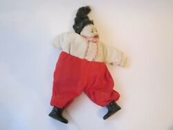 Vintage Collectible Antique Kozak Old Toy Baby Dolls Ussr Doll