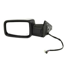 13-19 Ram 1500 Truck W/o Towing Mirror Power W/signal And Puddle Lamp Left Side