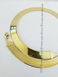 Solid 10k Gold 5mm-15mm Herringbone Necklace Bracelet 16-24 Chain Yellow Gold