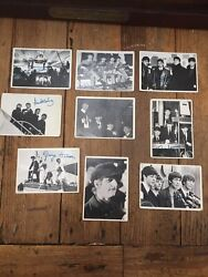Beatles Autographed Trading Cards - Lot 31 Cards From 2nd Series