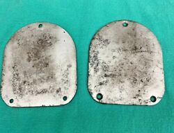 1957 Chevy Shock Tower Cover Plates Rear Interior