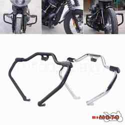Front Motorcycle Engine Guard Crash Bar For Harley 18-20 Softail Flhc Heritage