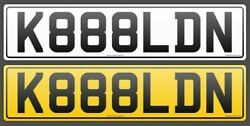 Great Number Plate K888ldn. Have You Ever Wanted To Have Cool Number Plate