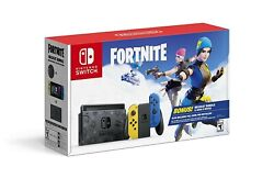 New Nintendo Switch Fortnite Special Edition Wildcat Bundle W/ Game And V-bucks