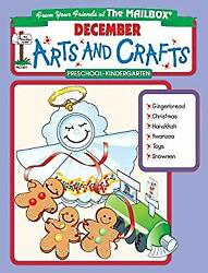 December Monthly Arts And Crafts The Mailbox Books Staff