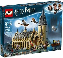 New Sealed In Box Lego Harry Potter 75954 Hogwarts Great Hall With Figurines
