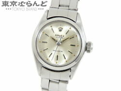 Rolex Oyster Precision Watch Ladies Manual Winding Antique 6410 7204ff66 Silver