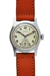 L.u.c. Small Second Ref 217547 Manual Winding Vintage Watch 1950and039s Overhauled