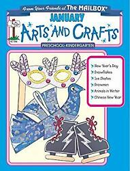 January Monthly Arts And Crafts The Mailbox Books Staff