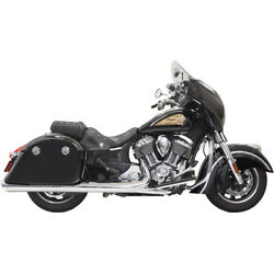 Bassani Xhaust - 8c17s - 4in. Polished Slip-on With Polished Slant-cut End Caps