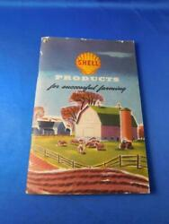 Shell Products For Successful Farming Book Chemicals Lubricants Oil Advertising