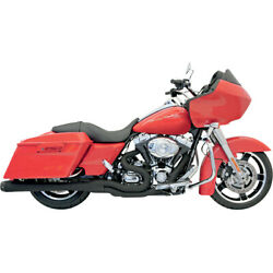Bassani B4 2-into-1 Sys. Blk For 06 H-d Street Glide-injec.flhx-i
