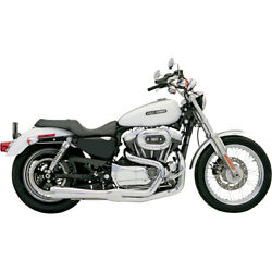 Bassani Road Rage 2-into-1 Sys. For 07-10 H-d Xl 883l Low Efi
