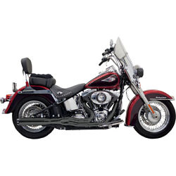 Bassani Road Rage Ii B1 Pwr 2-1 Sys. Blk 07 H-d Softail Stand. Efi-fxst