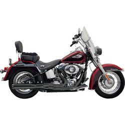 Bassani Road Rage Ii B1 Pwr 2-1 Sys. Blk 01-06 H-d Softail Stand. Injec.fxst I