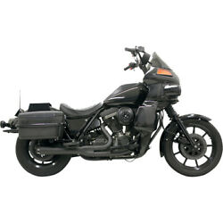 Bassani Road Rage 2-into-1 Sys. Blk 88-93 H-d Low Rider Sport-fxrs-sp