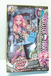 Monster High Viperine Gorgon Doll Frights Camera Action Hauntlywood 2013 Retired