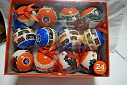 Lionel Trains 2013 Christmas Ornaments Sealed Gift Box Of 24 New 1220l