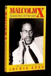 Malcolm X Speeches At Harvard - Paperback By X Malcolm - Good