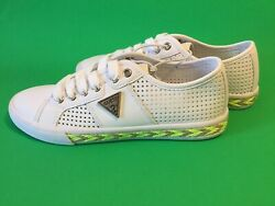 New Guess Los Angeles Womenandrsquos Tennis Sneakers Shoes Sz 5.5 White