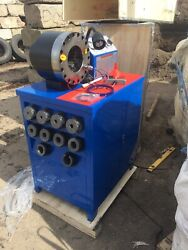 Swaging Machine For Hydraulic Hoses Andndash Up To 2.5andrdquo For All Types Of Hose
