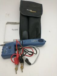 Fluke Networks Pro 3000 Toner And Probe Kit With Soft Case Instructions Exc. Cond.