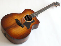 New Taylor 224ce-k Dlx Shaded Edgeburst Acoustic Guitar From Japan