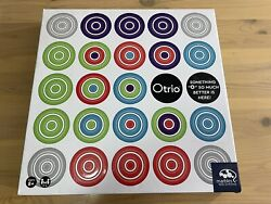Otrio Marbles Brain Workshop Strategy-based Board Game Learning - New Sealed