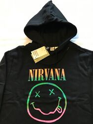 Nirvana Hoodies Authentic And Licensed S M L Xl Xxl New With Tag