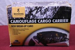 Browning Camouflage Cargo Carrier - Rooftop Storage For Your Truck, Suv Or Car