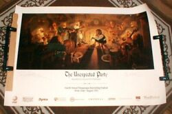 The Hobbit - The Unexpected Party - Hildebrandt Signed Poster - 27 X 39.5