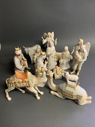 Cybis Nativity Set 15 Pieces, Absolutely Beautiful And Delicate