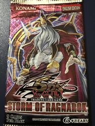 Yugioh 1st Edition 5d's Storm Of Ragnarok Booster Pack New
