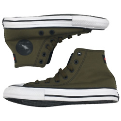 Converse Chuck Taylor All Star Hi Shoes Youth Size 2.5 Olive Green Brand New