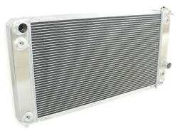 3 Rows For 1996-2005 04 Chevy S10 Ls Swap 26.3 W Core V6 4.3l Aluminum Radiator