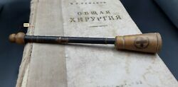Vintage Wooden Pinard Stethoscope, Medical Tool Instrument Military Doctor Gift