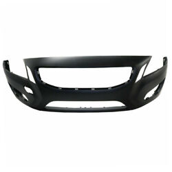 Capa 11-13 S60 2.5l/3.0l Front Bumper Cover Primed W/o Headlamp Washer Holes
