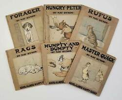 May Byron / Cecil Aldin's Happy Family Set Of Six Volumes I Hungry Peter His