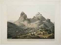 East Africa Ethiopia / Mountains Of Samayut From Twenty-four Views In St Helena