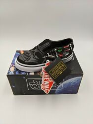 2014 Star Wars Darth Vader Classic Slip-on Shoes 9y - Brand New